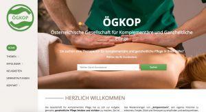 Titelseite von www.oegkop.com